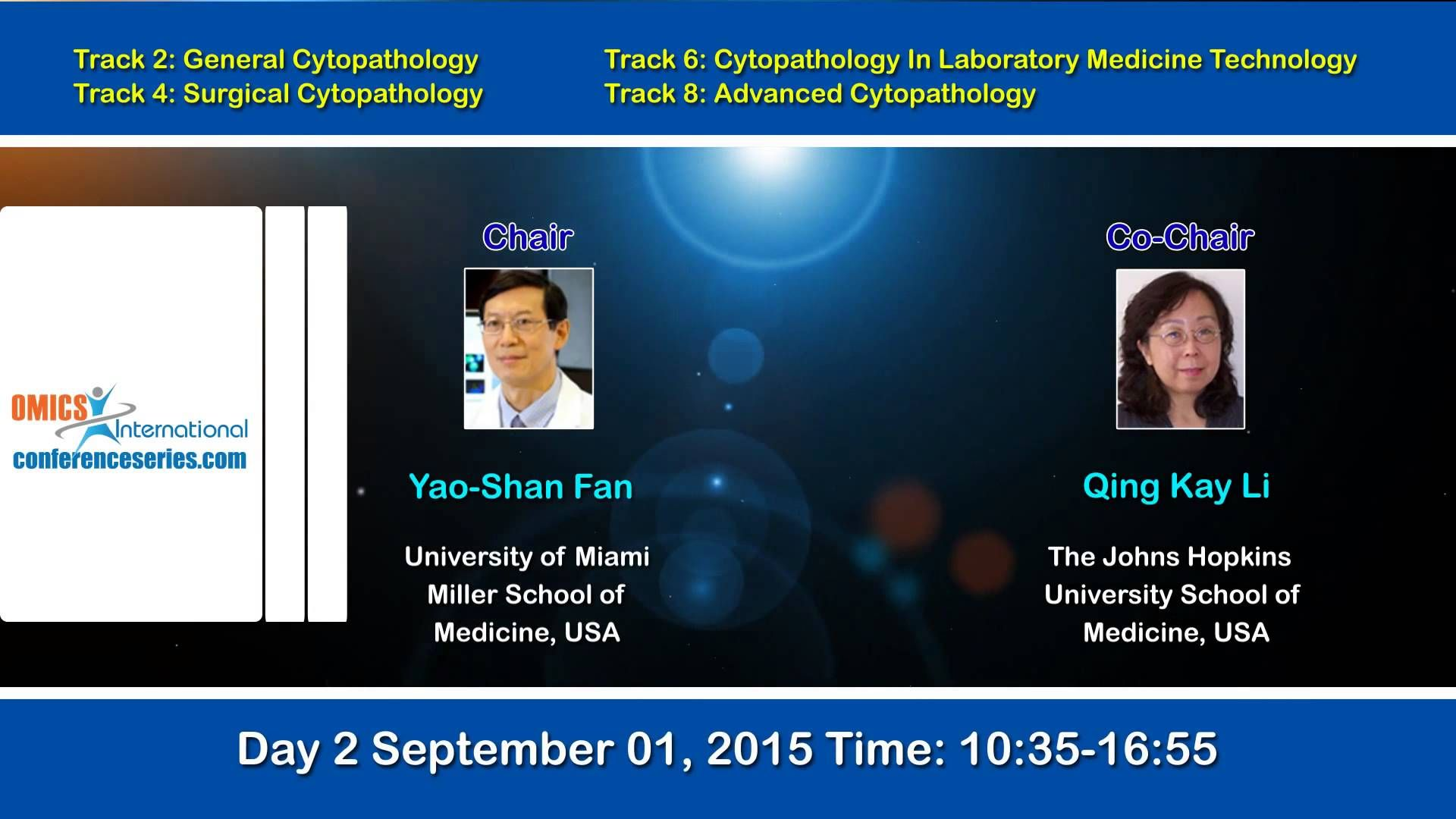 International Conference on #Cytopathology  August 31-September 02, 2015  Toronto, Canada