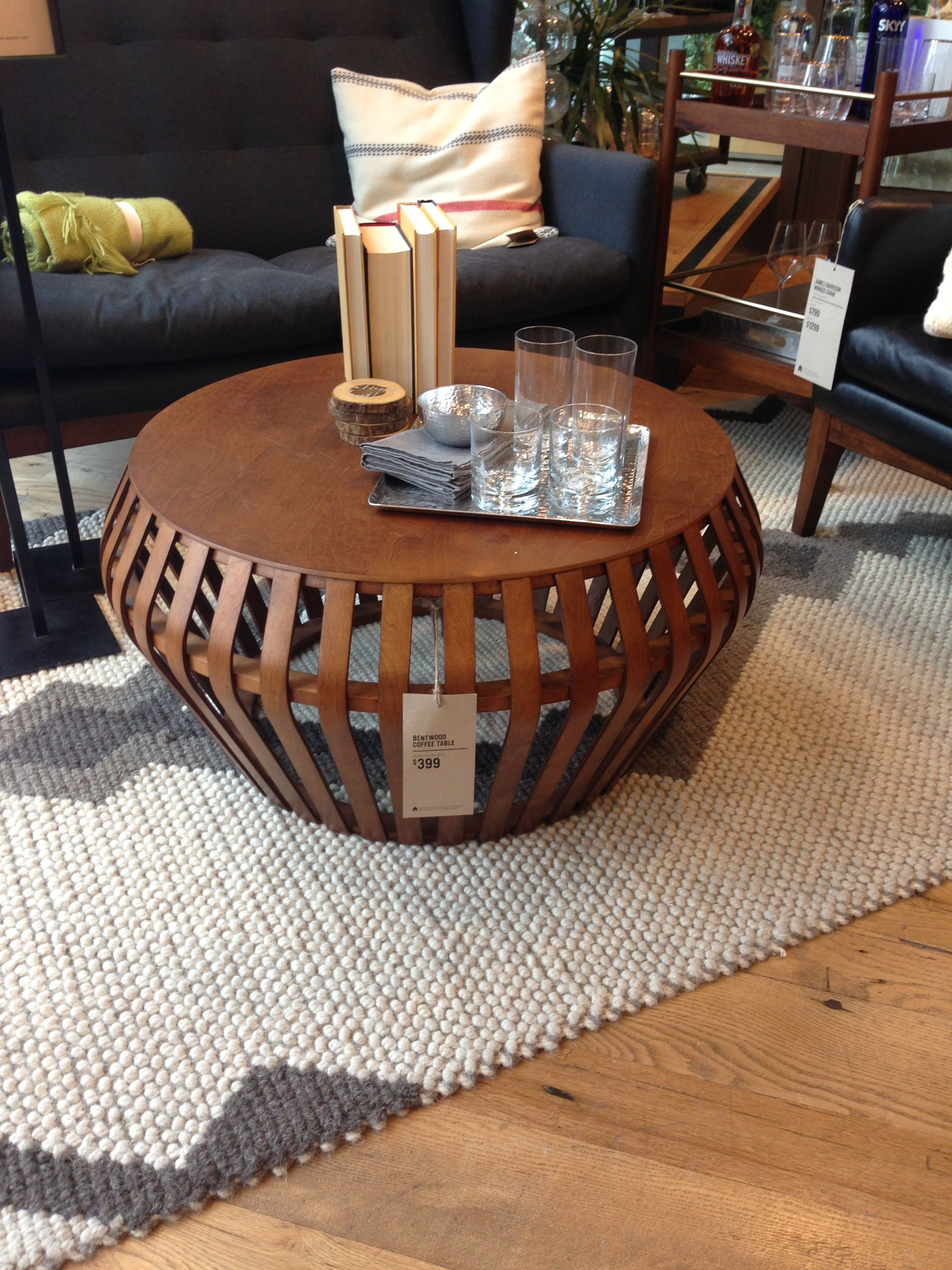 West Elm Bentwood Coffee Table Newmark Pinterest Apartment - West elm bentwood coffee table