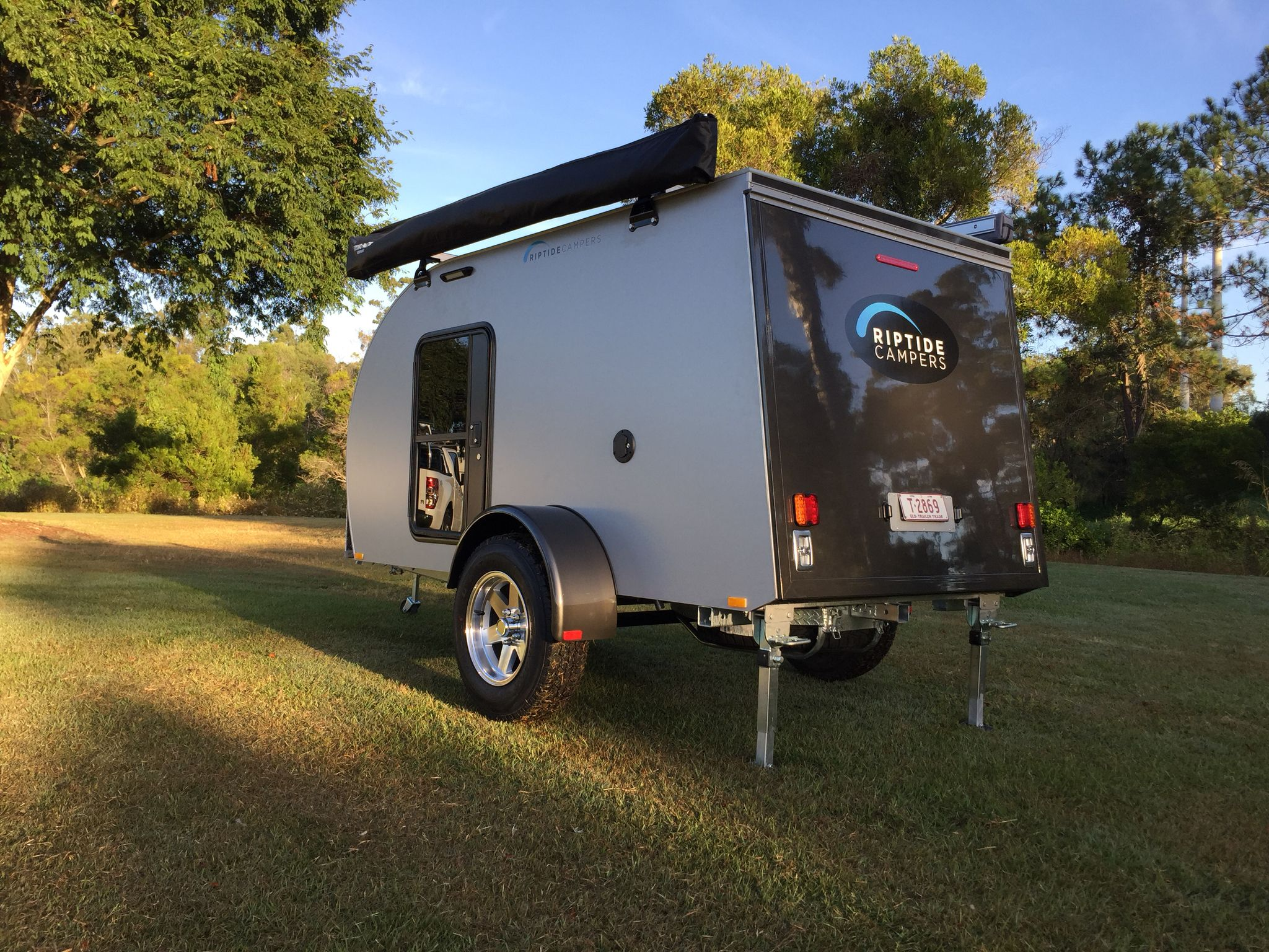 Riptide Campers Summit- Off Road Teardrop camper  | Teardrop trailer
