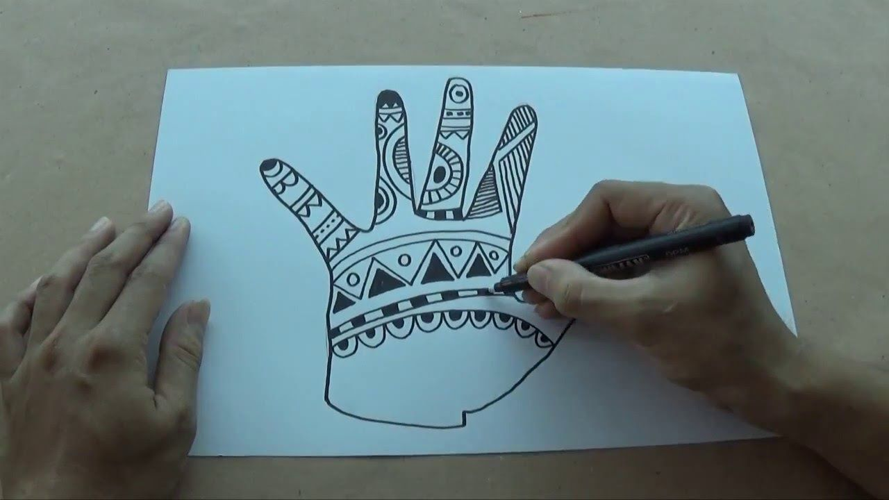Craft Ideas For Kids Youtube Part - 43: How To Draw Zentangle Art For Kids - YouTube · Craft Projects ...