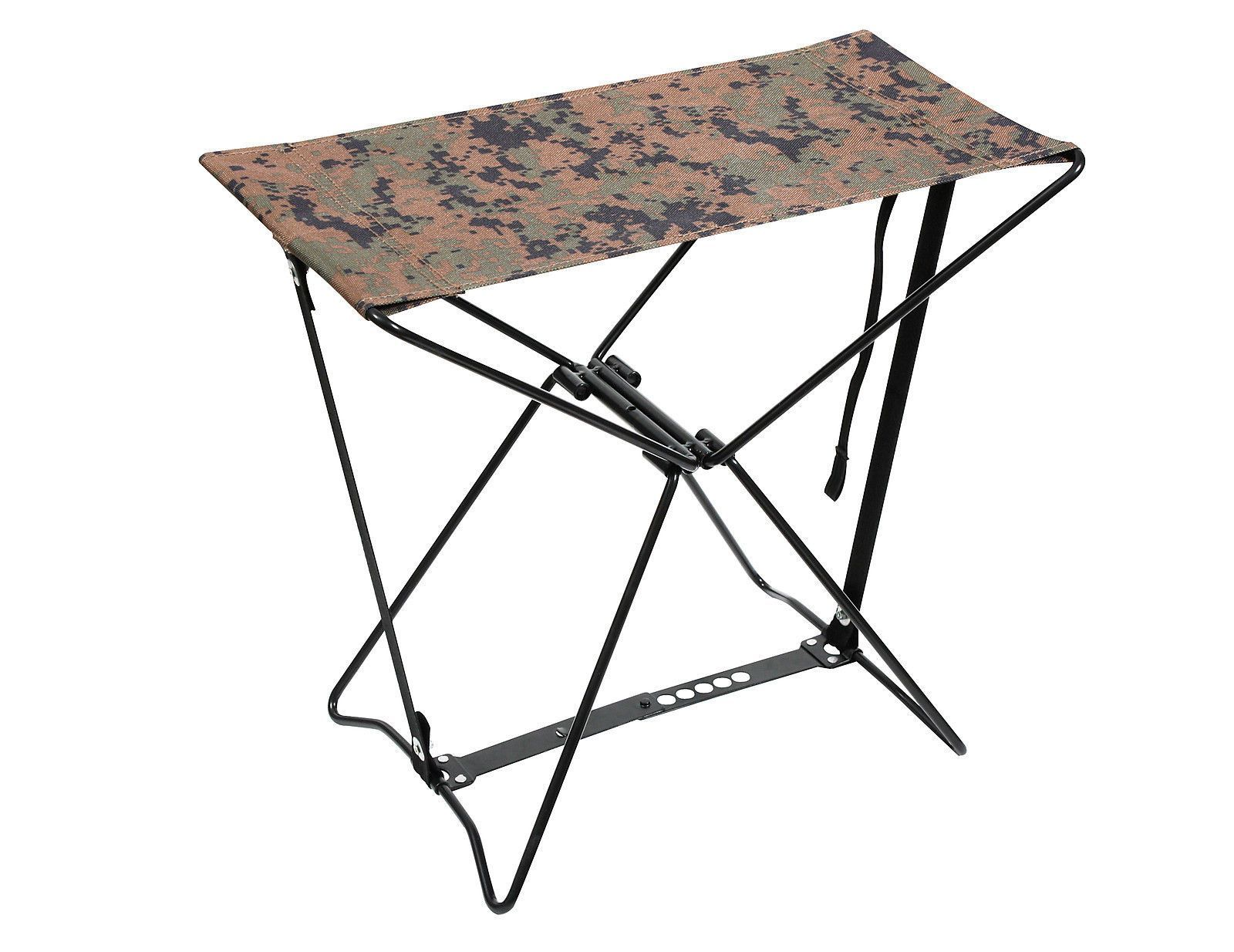 Folding Camping Stools Camouflage Hiking Chair Foldable Outdoor