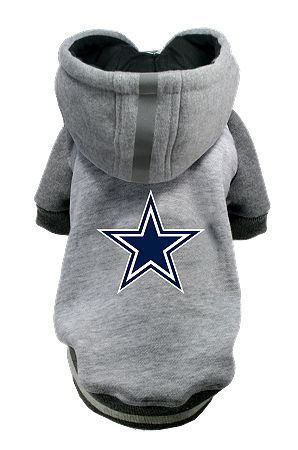 NFL Dallas Cowboys Licensed Dog Hoodie - Small - 3X  cdccd2c73