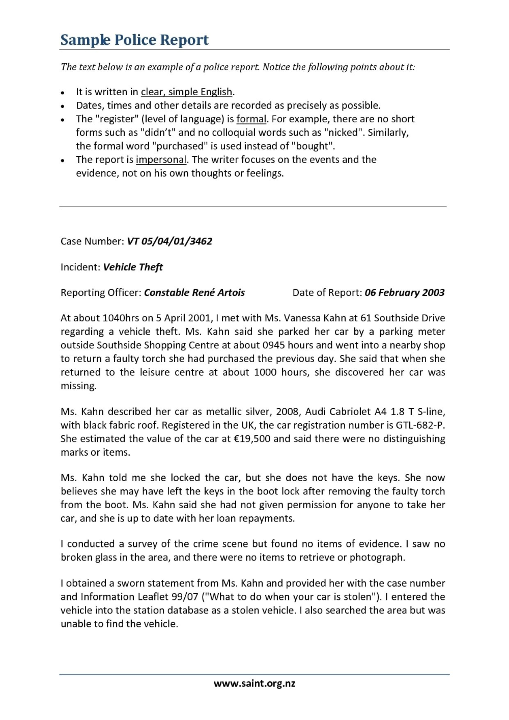 Narrative Report Examples Pdf Examples Within How To Write A Work Report Template 10 Professional T Report Writing Template Report Writing Writing Templates
