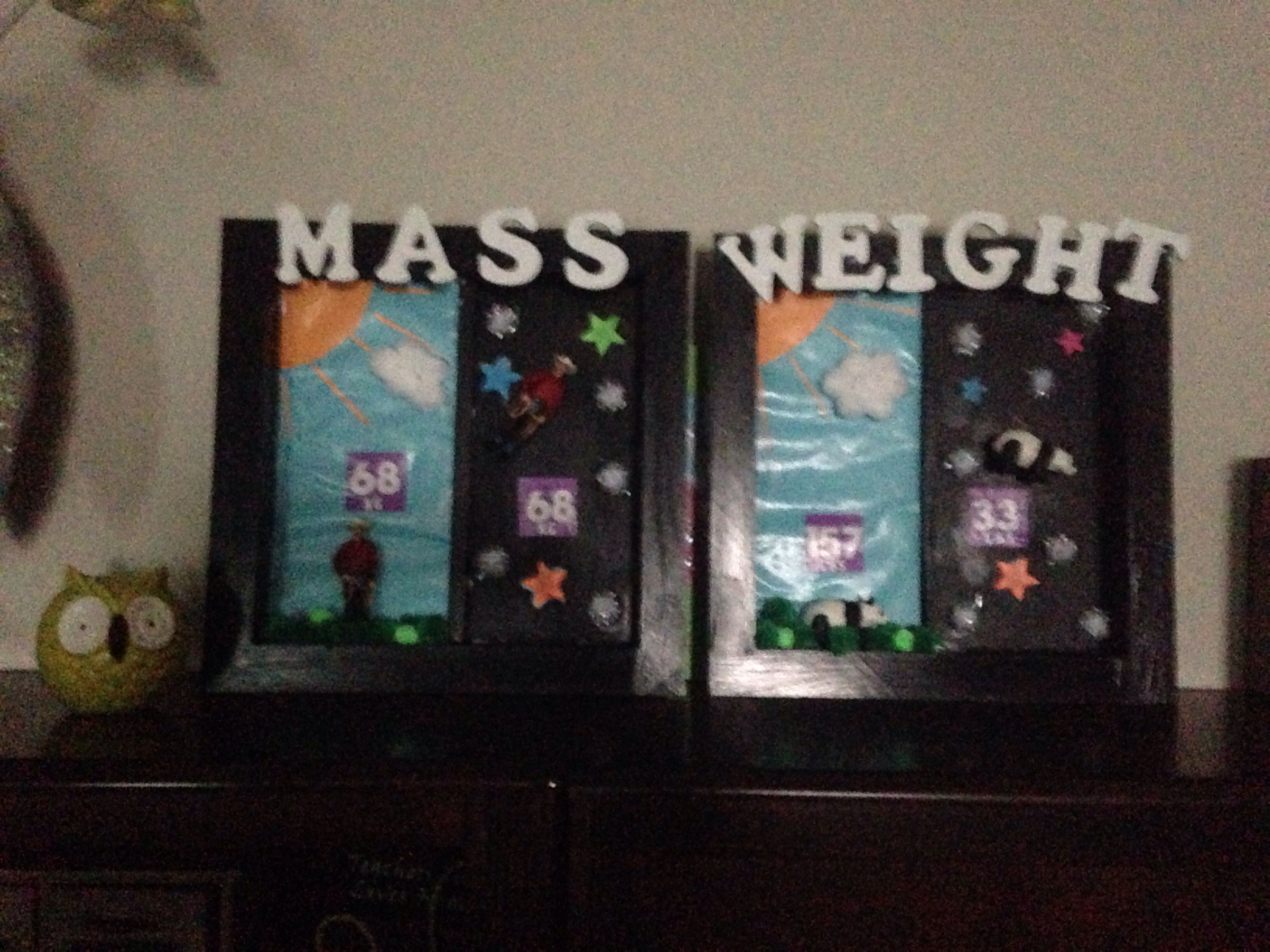 Weight And Mass Shadow Box Mrs Donahoo S 4th Grade Math
