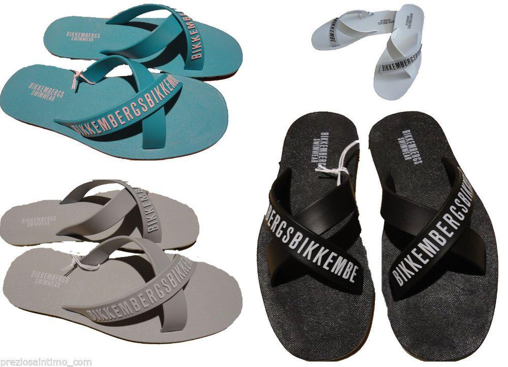 vasta selezione di a0803 b32eb Ciabatte Uomo Bikkembergs 2014 mens beachwear ciabatta Slippers ...