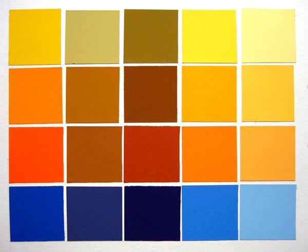 Analogous color scheme 1 yellow color palettes - Colors that compliment orange ...