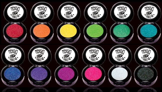 Medusa's Makeup Electro eyeshadow collection. I WANT THEM ALL!
