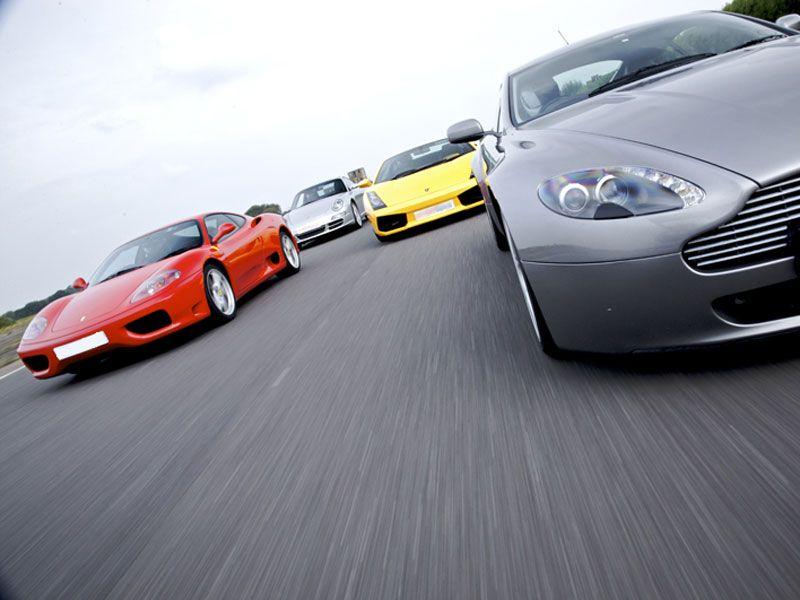 Supercar Treble Taster Offer Super Cars Racing Racing Seats