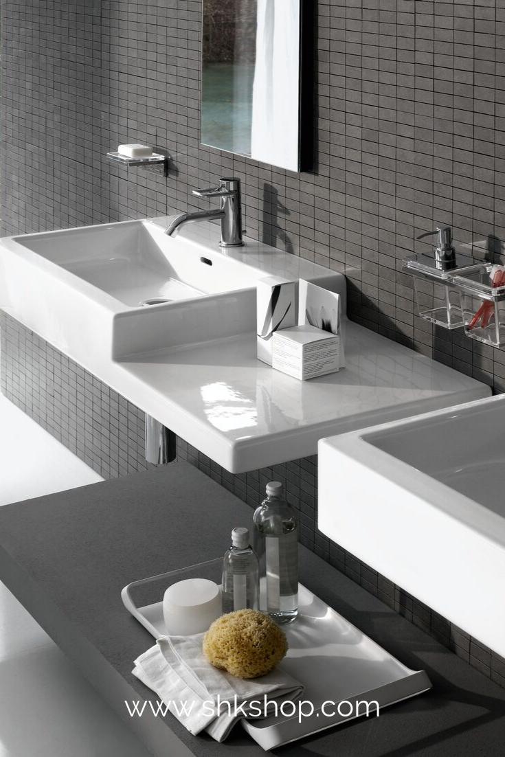 Laufen Living City Waschtisch 1 Hahnloch Mit Berlauf Ablage Rechts 100x46 Cm Wei Waschtisch Badezimmer Innenausstattung Badezimmereinrichtung