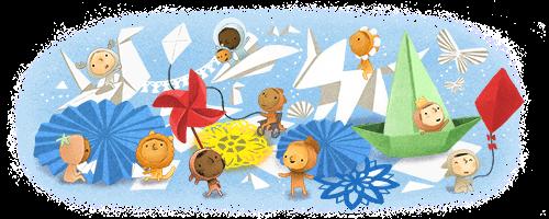 Children's Day 2020 (May 27) di 2020 Doodle, Anak, Venezuela