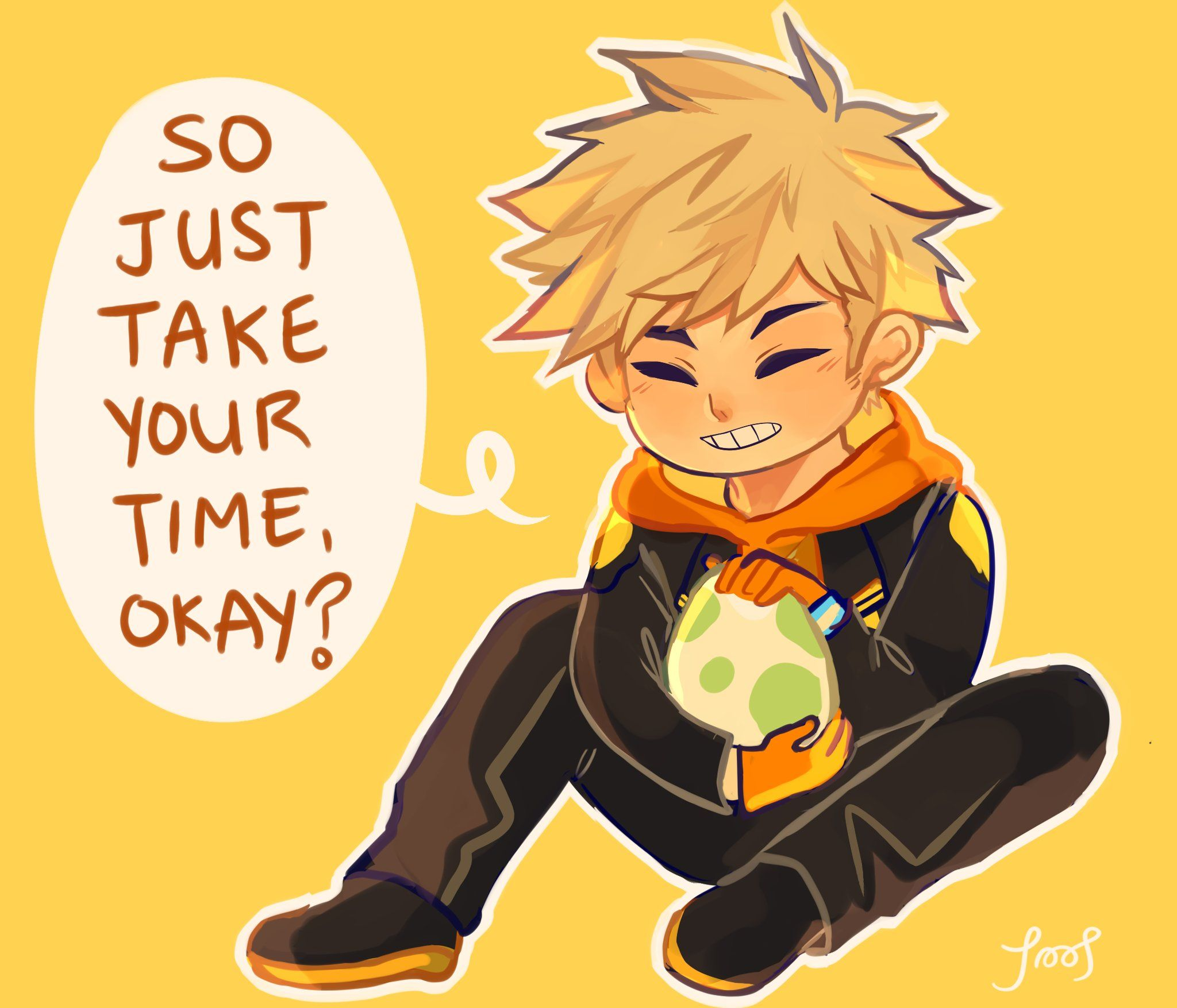 """poopie(mo) on Twitter: """"spark says this to each and every one of his pokemon eggs https://t.co/XOkw3vRUiw"""""""