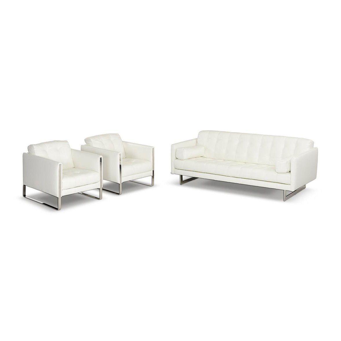 Summer White Sofa Set Leather Sofa Set White Sofa Set Tufted Leather Sofa