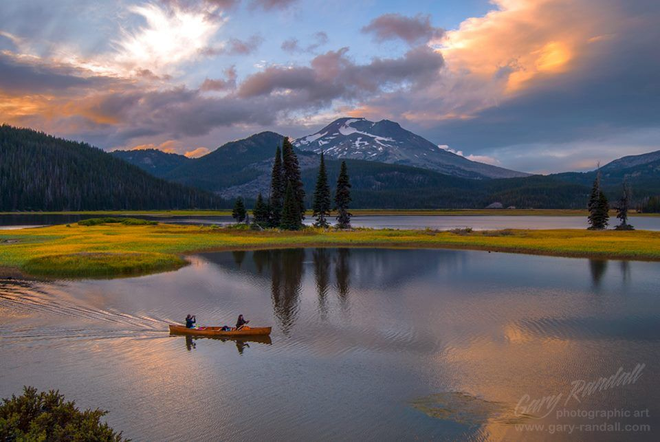 Sparks Lake near Bend, Oregon   Gary Randall   Camping ...