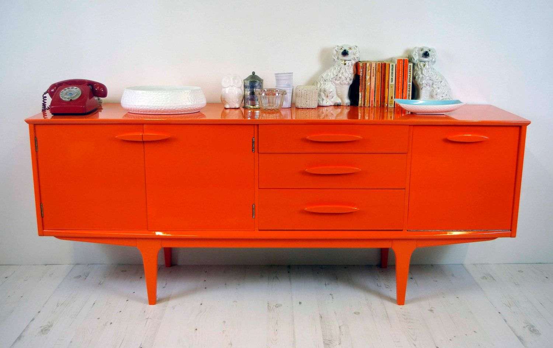 pretty inspiration modern credenza. Vintage mid Century modern  1960 s G Plan sideboard credenza in retro orange mirror