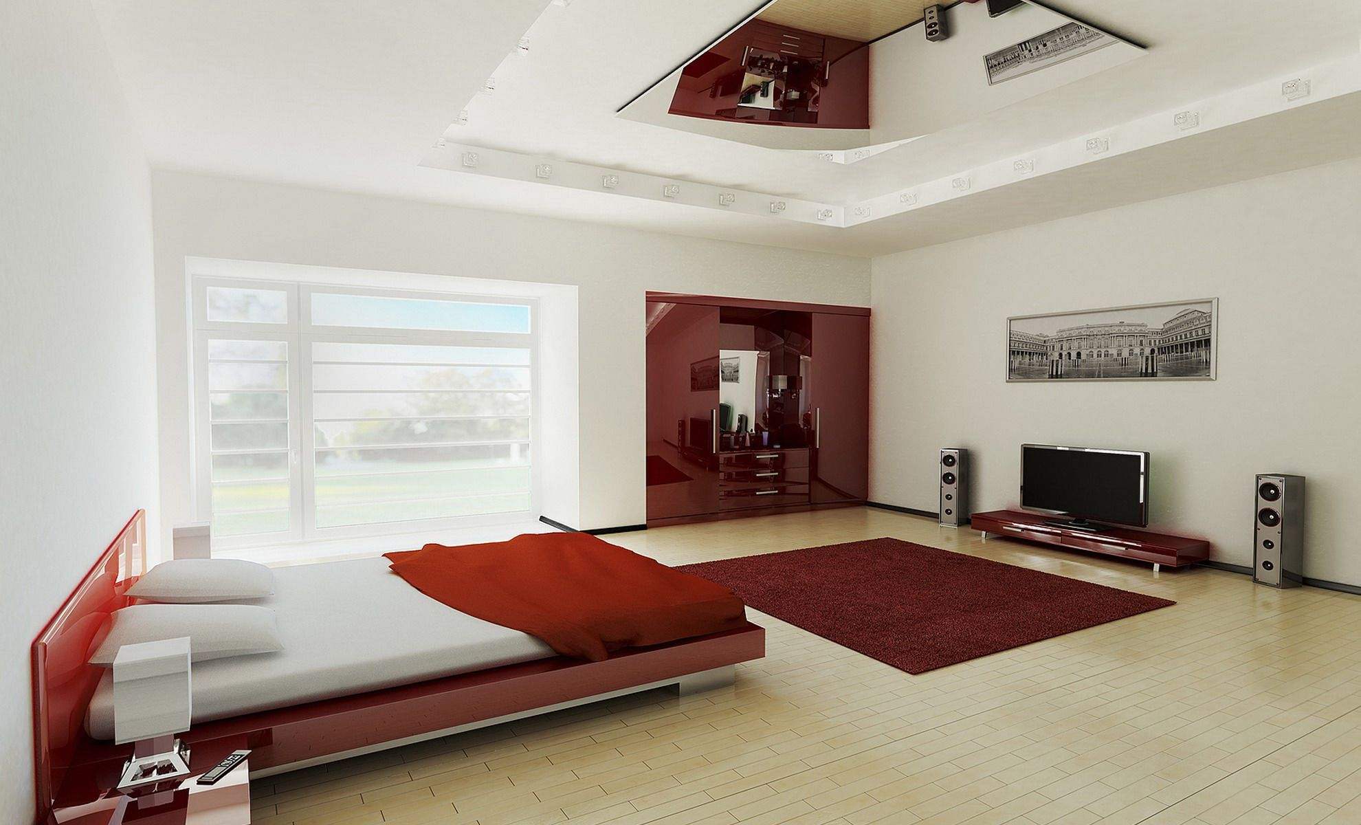 . Latest Modern Bedroom Interiors photo   design bed   Modern bedroom