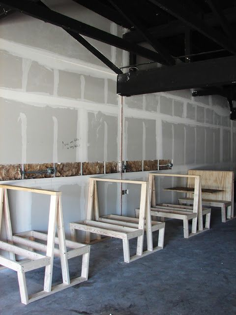 ordinary How To Build A Booth Bench Part - 4: brooklyn to west: Build restaurant booths