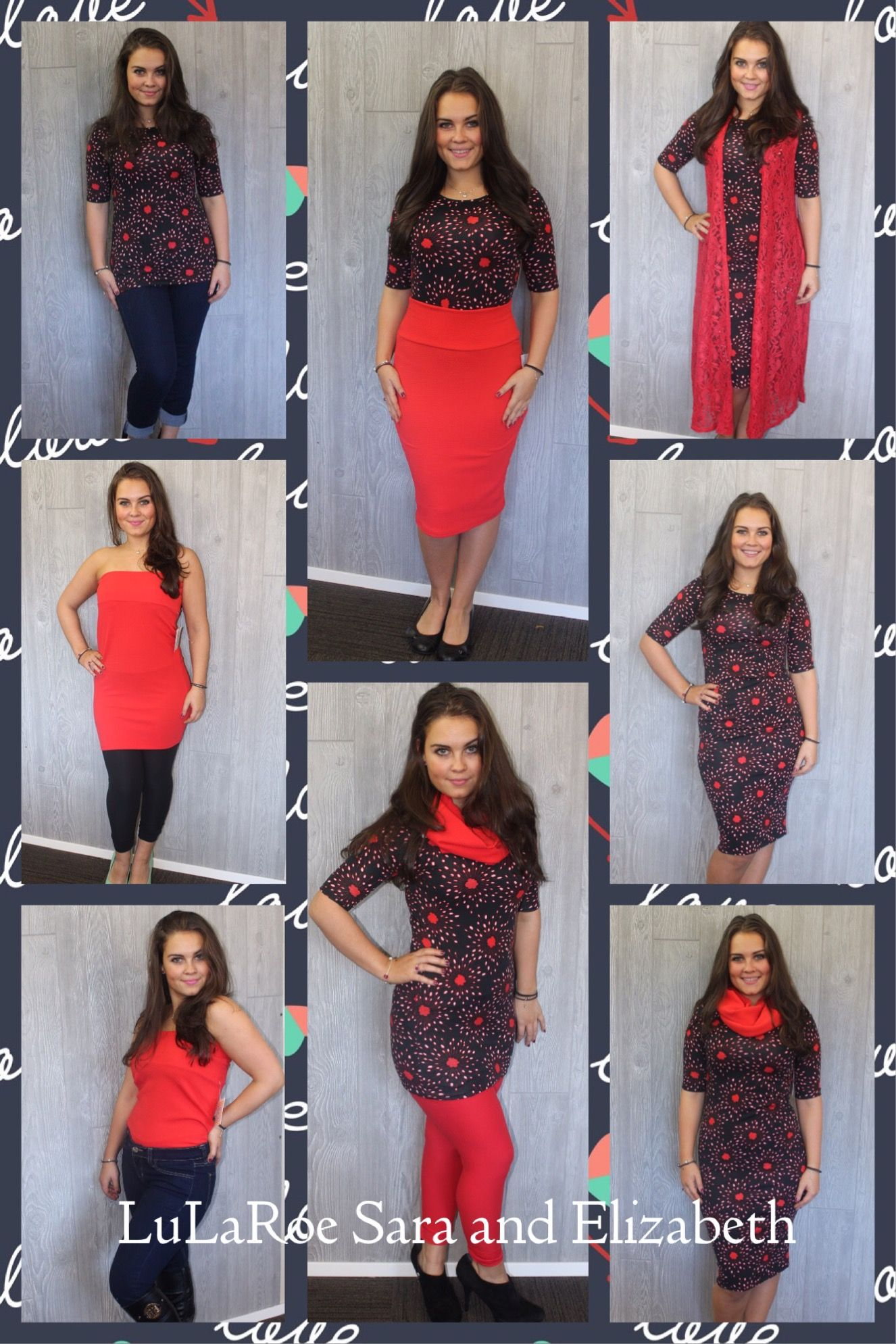 1e49bf423c170 The Cassie skirt and Julia dress. 2 LuLaRoe pieces that make so many  different outfits!!