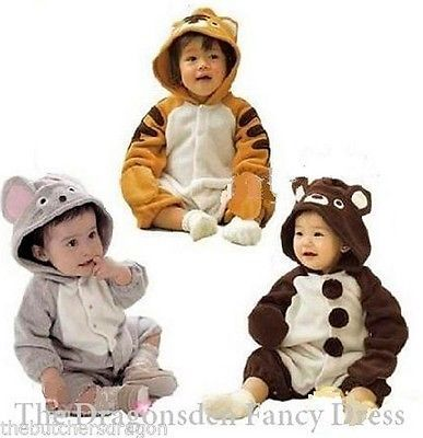 #Animal romper suit childrens toddler baby grow fancy #dress night #clothes,  View more on the LINK: 	http://www.zeppy.io/product/gb/2/130806829738/