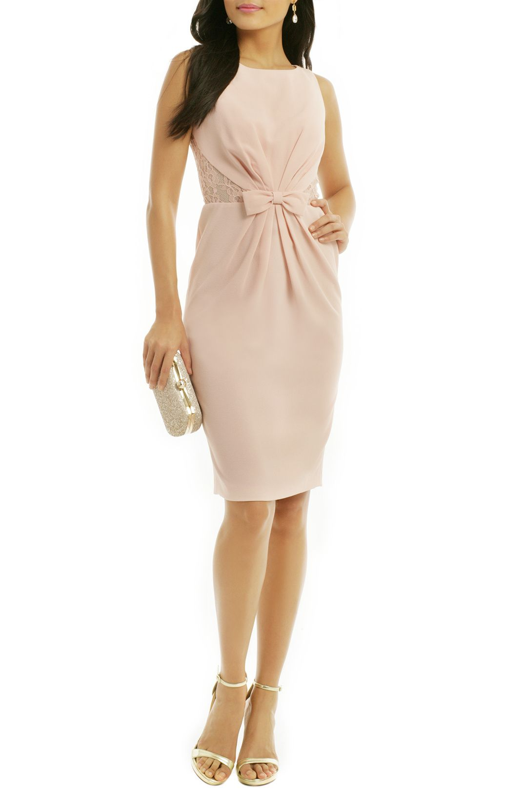 Rent He Makes Me Blush Dress by Badgley Mischka for $30 - $40 only ...