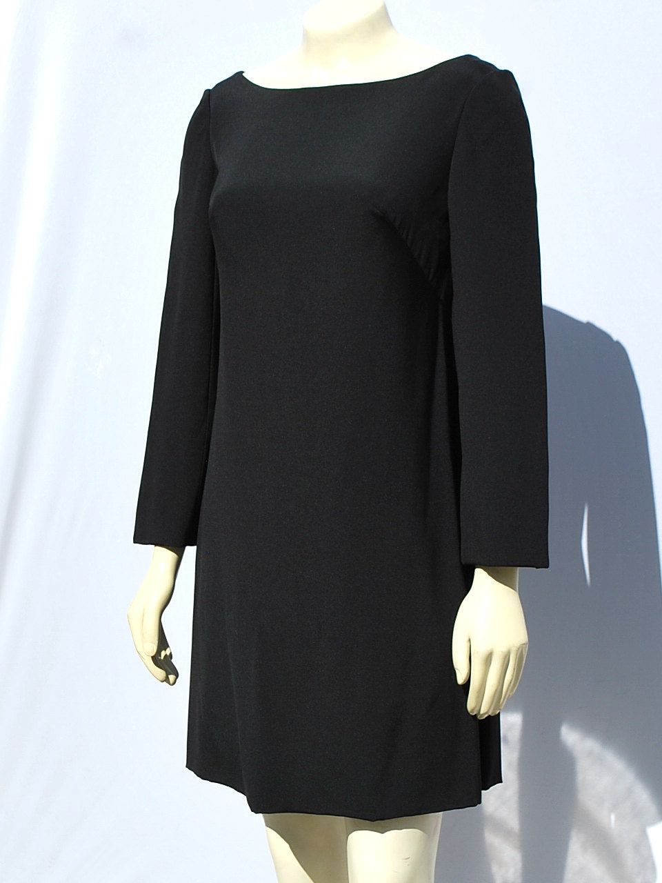 Vintage us malcome starr mini dress sexy short lbd cocktail party