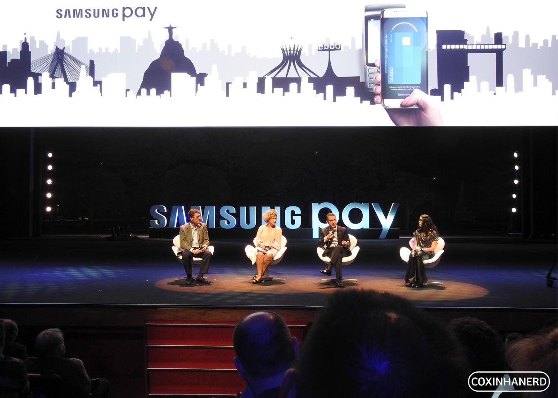 Lançamento Samsung Pay