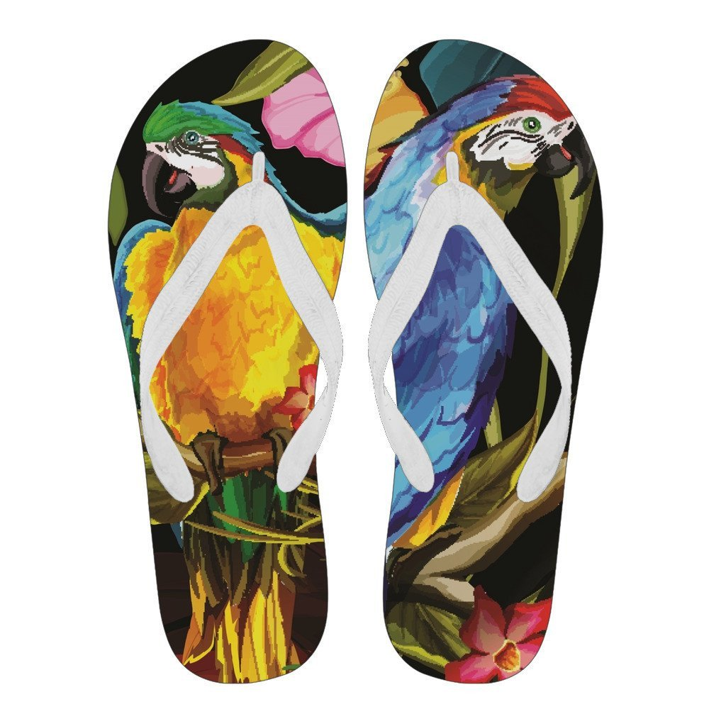 Parrot Flip Flops