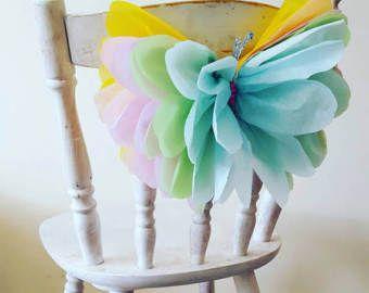 """Photo of Quattro 14 """"decorazioni per feste di compleanno per ragazze carta velina farfalle da parete camera da letto dolce 16 arazzi per doccia per bambini"""