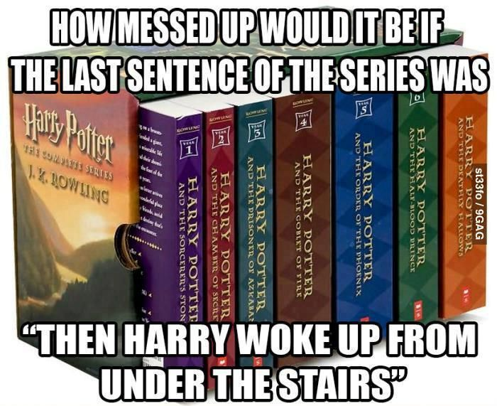 It Would Be Quite Shocking Xd Harry Potter Books Harry