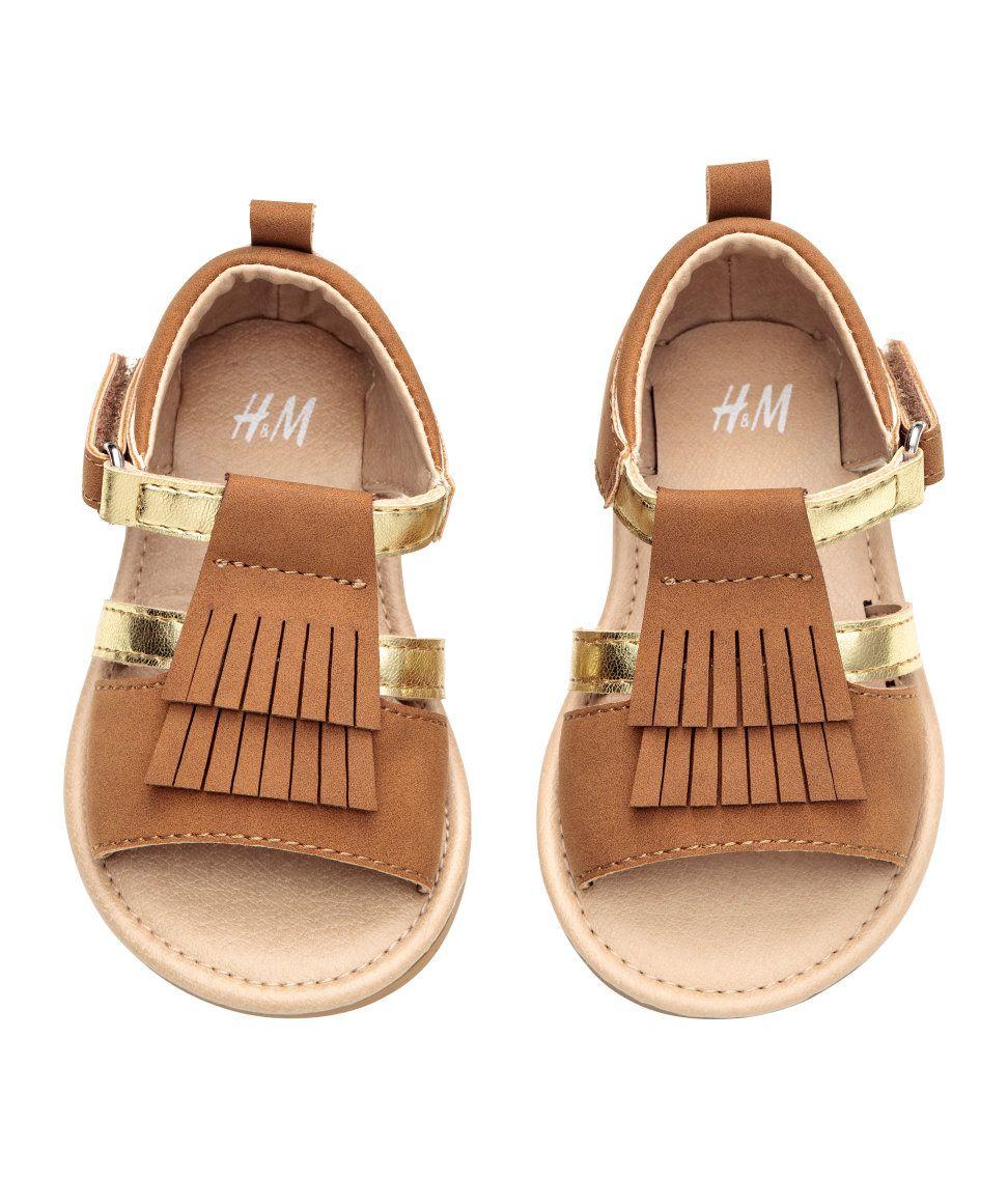 da79e0151 Sandals with Fringe