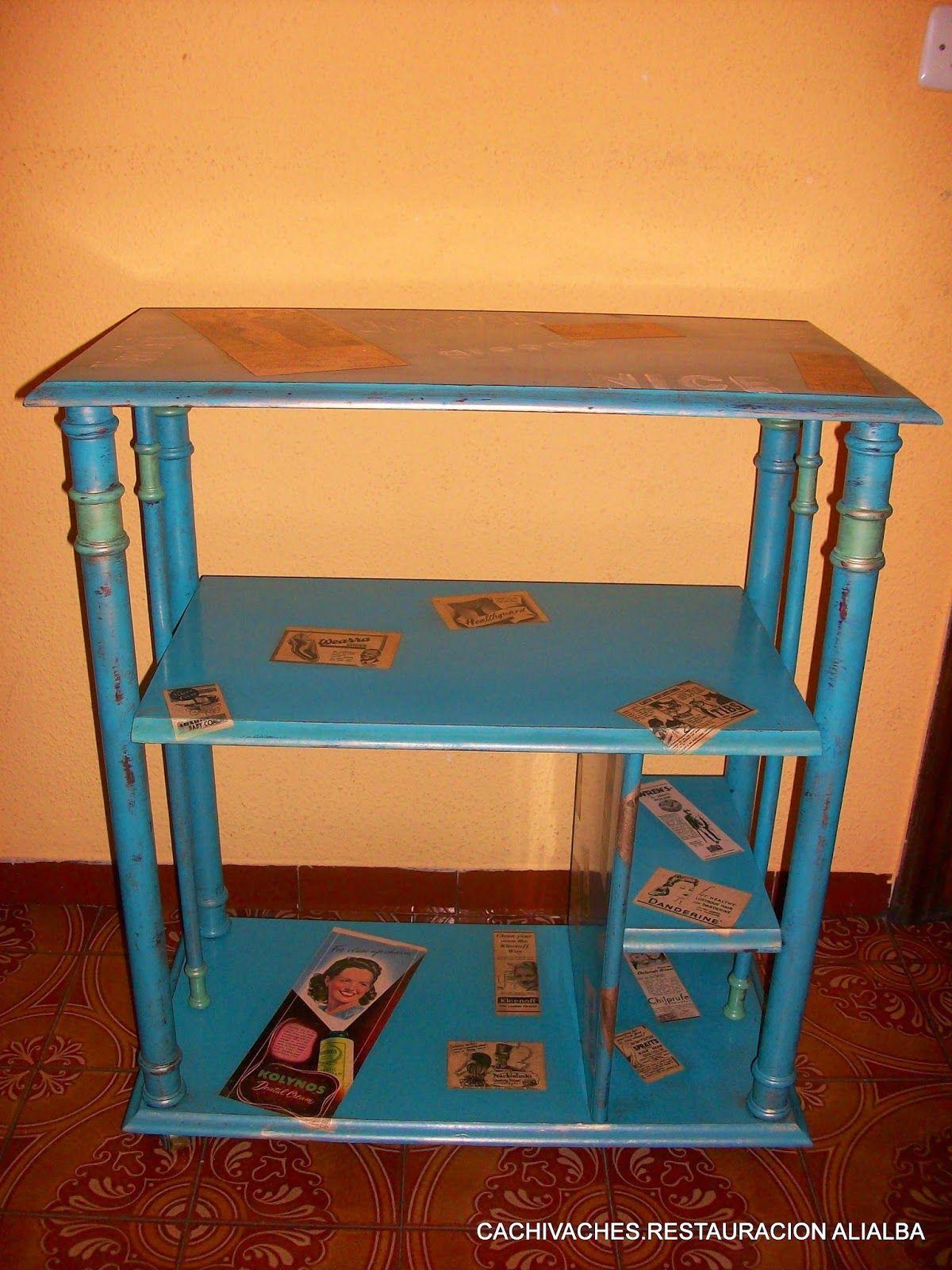 Restaurar Muebles Antes Y Despues Great Cachivaches Muebles Y  # Muebles Reformados Antes Y Despues
