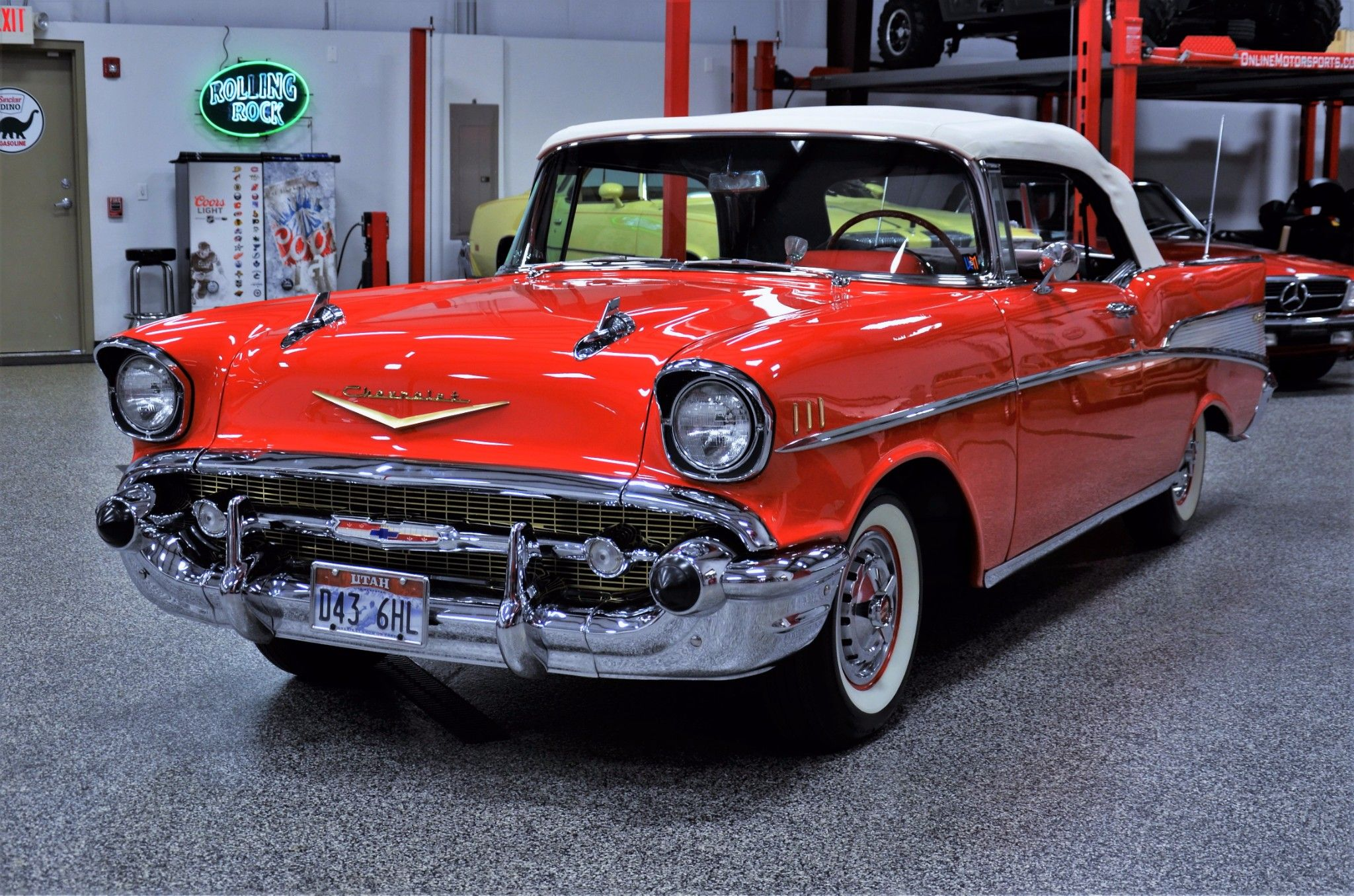 1957 Chevrolet Bel Air Convertible 283 Power Pack for sale on BaT ...