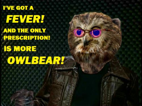 Tumblr - geek and sundry - tabletop - owl bear