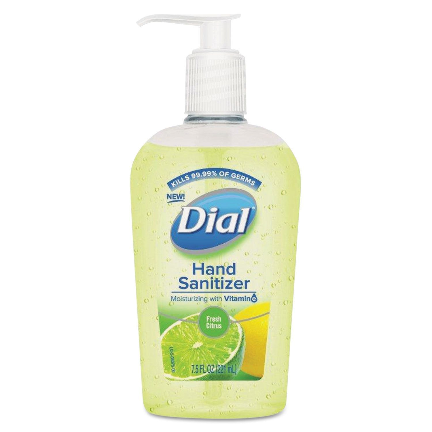 Dial Scented Antibacterial Hand Sanitizer Fresh Citrus 7 5 Ounce