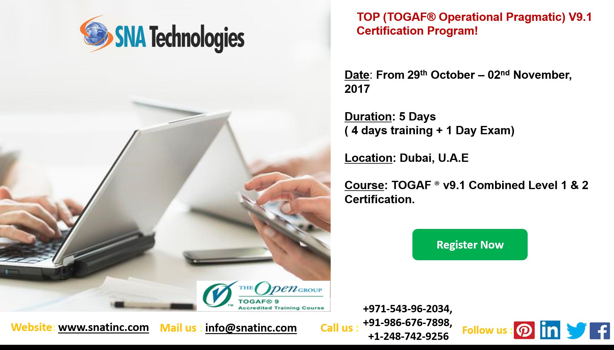 Togaf V91 Certification Program In Dubai Uae Togaf V91