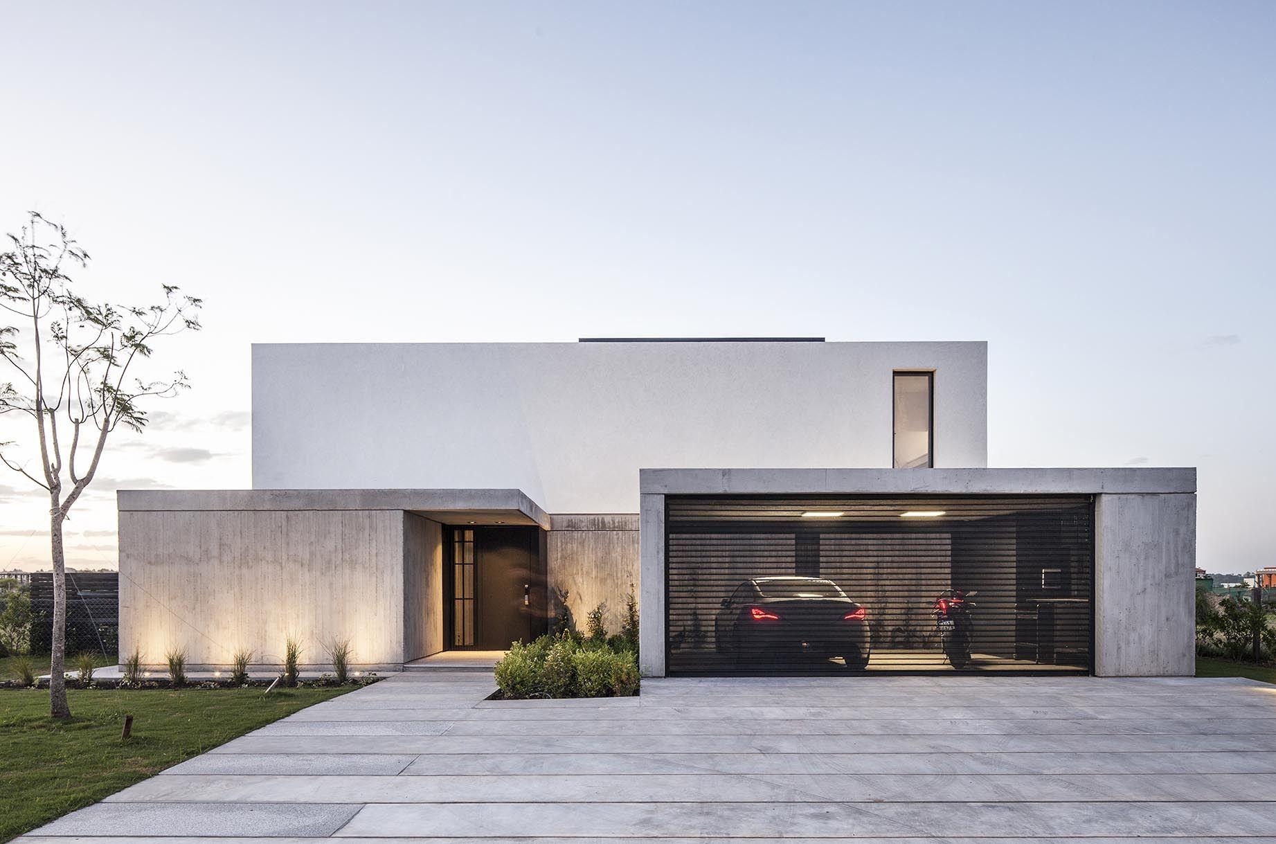 House n estudio gm arq fachadas de casas modernas for Casa design moderno