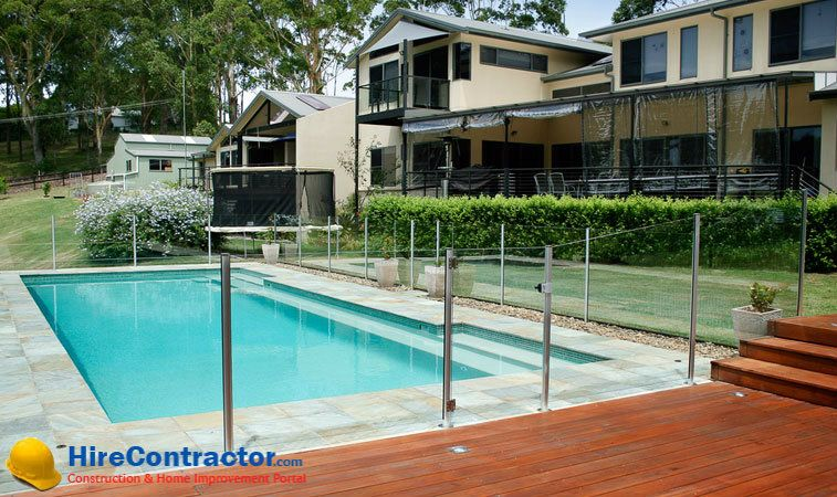 With Glass Pool Fencing Or Glass Balustrades You Can Give An Attractive Boundary To Your Pool P Above Ground Swimming Pools In Ground Pools Above Ground Pool