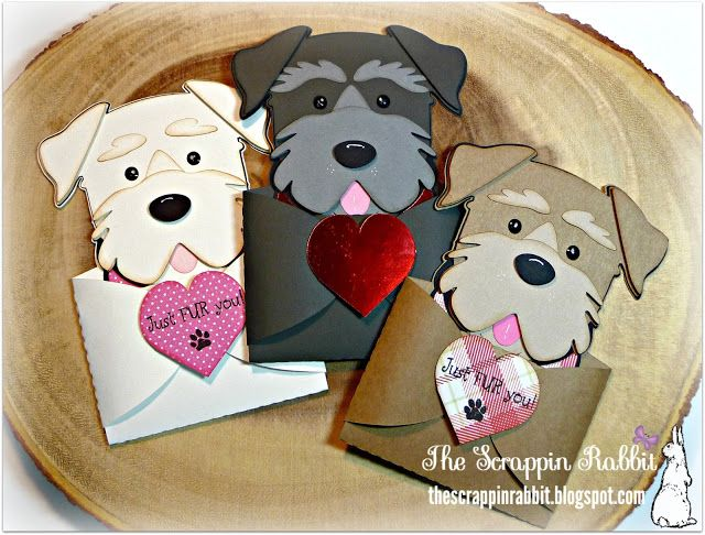 Photo of Cricut Dog Gift Card Holder, Digi Playground, Schnauzer, Terrier, The Scrappin R…
