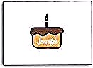 Custom name chocolate birthday cake envelope #birthday #celebration #party #birthdayquotesforboss