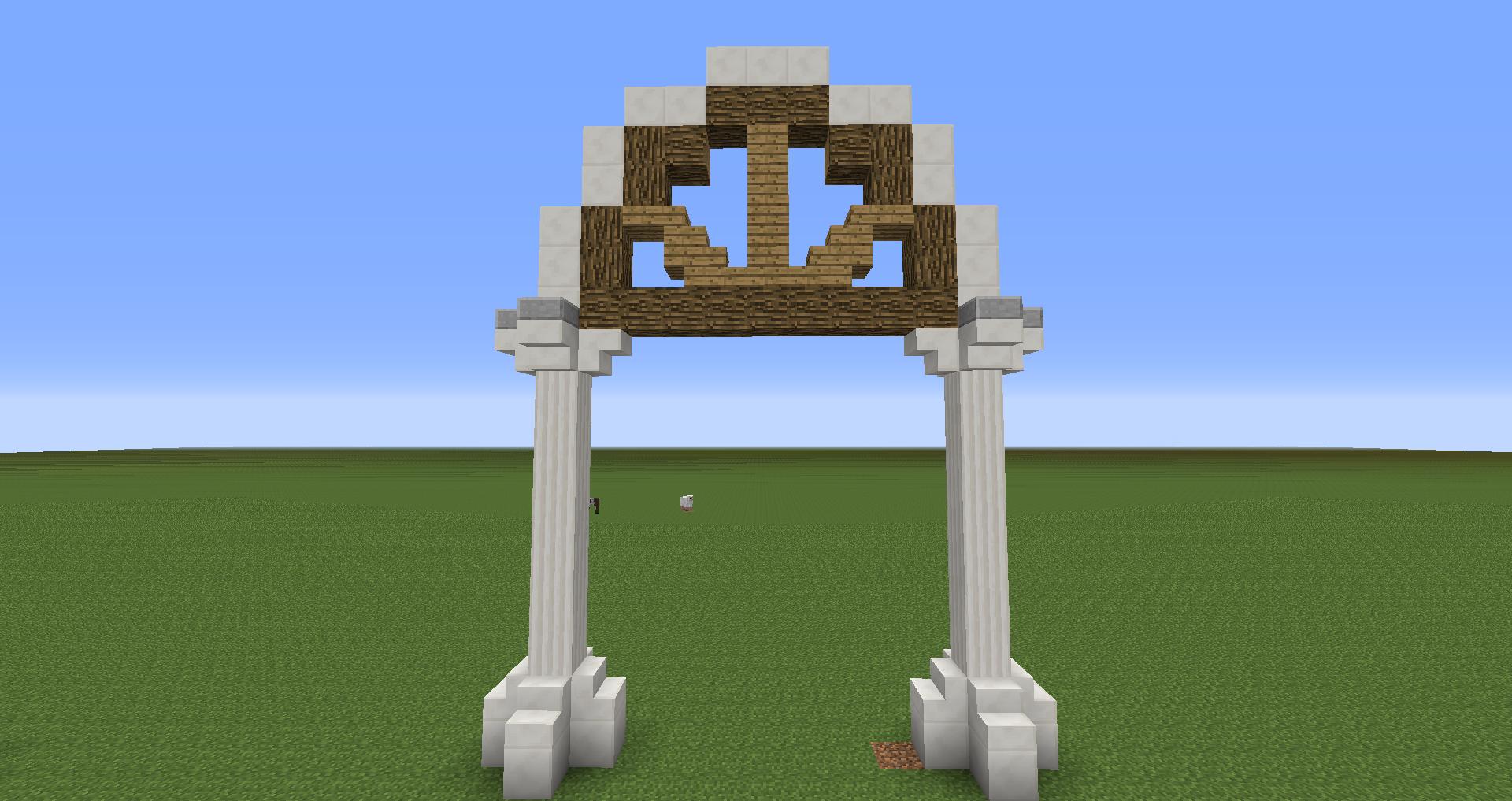 Better Arches Imgur Minecraft Blueprints Minecraft Amazing Minecraft