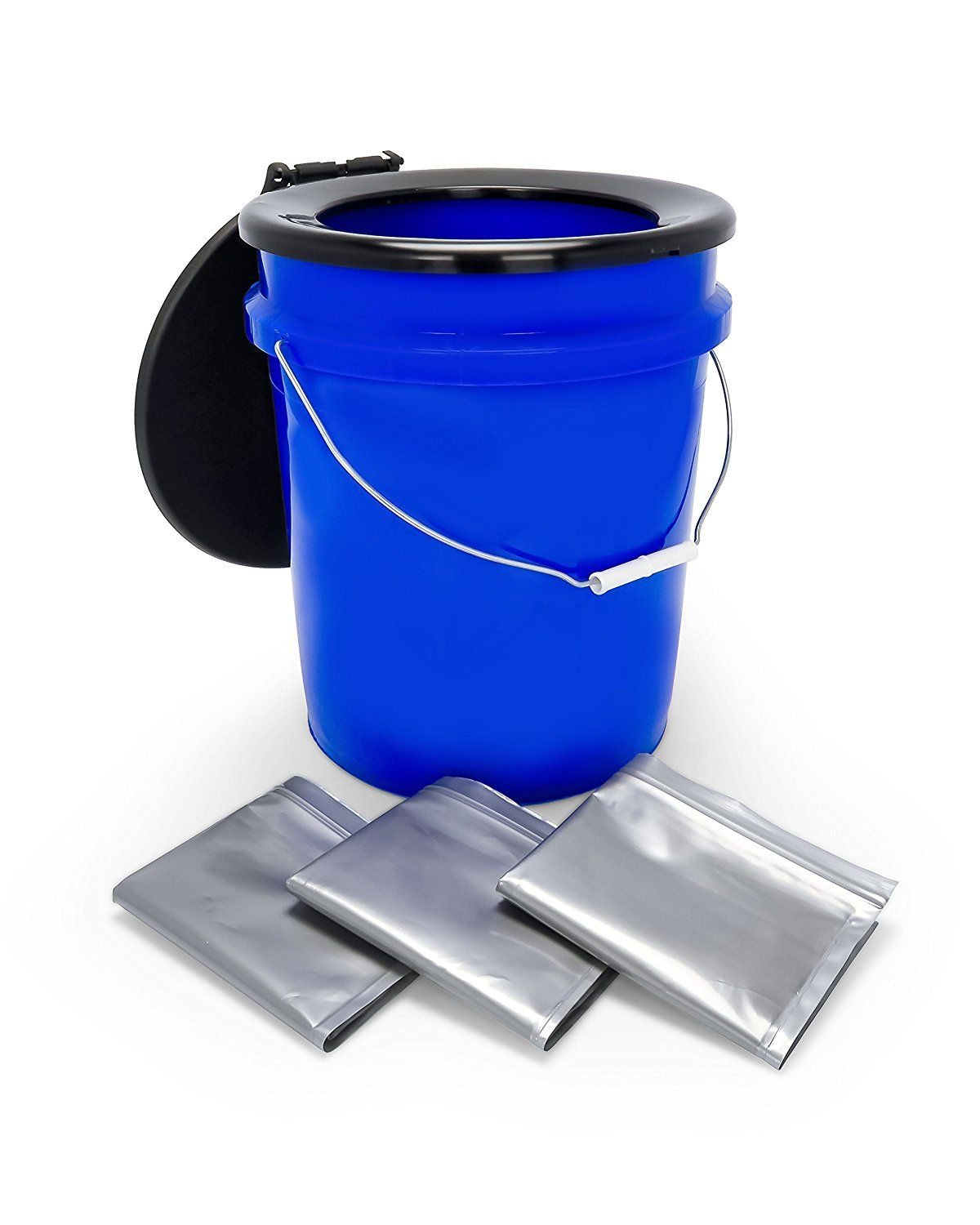 Camco 41549 Toilet Bucket Kit With Seat 1 Pack Accessories Amazon Canada With Images Camping Toilet Camper Awnings Camco