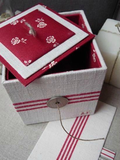 Diy Decorated Box Cartonnage Blog 13 01 13 3 Decorations