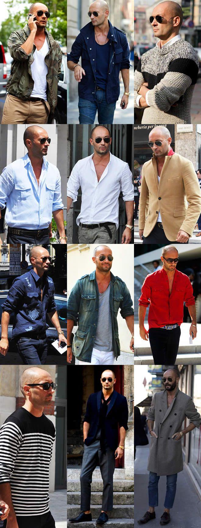 Mit männer glatze für style Studie bestätigt: