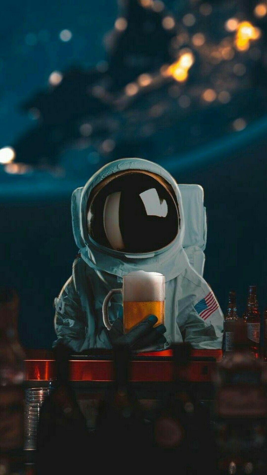 Fondos de Pantalla Astronautas en HD para Celular