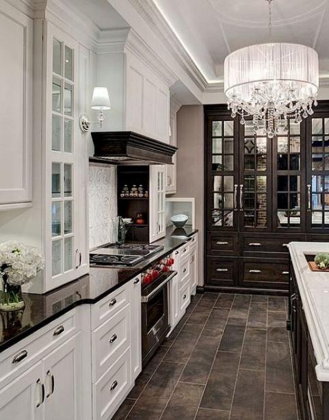 20 Innovative Black And White Kitchen Decoration Ideas Eweddingmag Com Dream Kitchens Design Farmhouse Decor Style