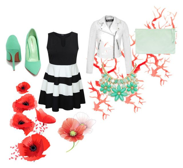 """""""springing into summer"""" by oliviapink2021 on Polyvore featuring Miss Selfridge, Kate Spade and Shoe Republic LA"""