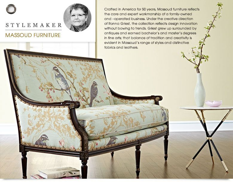 Massoud Furniture Massoud Sofa Massoud Chairs Horchow