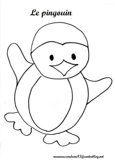 Coloriage pingouin colorier dessin imprimer - Coloriage pinguin ...