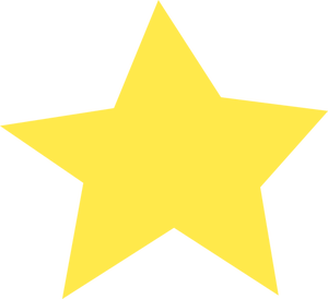 PublicDomainVectors.org-Vector image of star with five pointers.