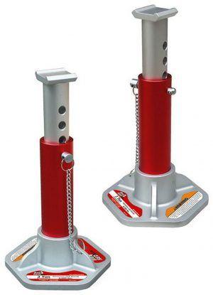 Torin Big Red T43004 Double Locking Aluminum Jack Stands Jack Stands Aluminum Garage Workshop