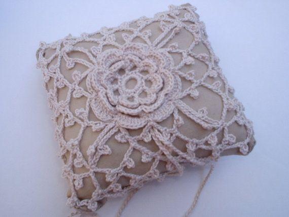 Crochet Ring Bear Pillow Pattern